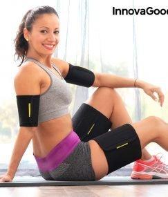 Sportski steznici za ruke i noge s efektom saune