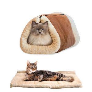 Plisani krevet za mačke