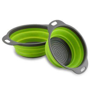 Sklopiva silikonska cediljka za kuhinju